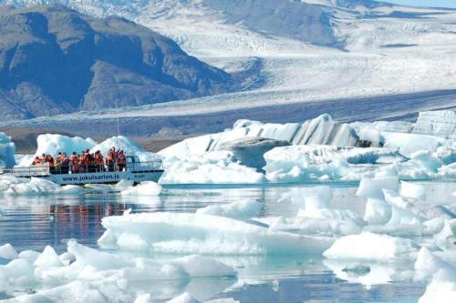 Glacier Lagoon Boat tour