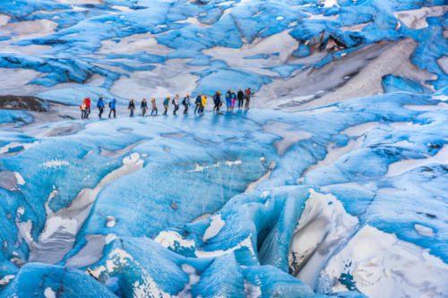 Glacier hike Sólheimajökull