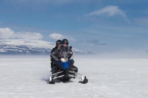 Snowmobile tour Langjökull